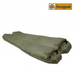 Sac de couchage SOFTIE 12 OSPREY Vert Olive Ouverture à droite 220 cm