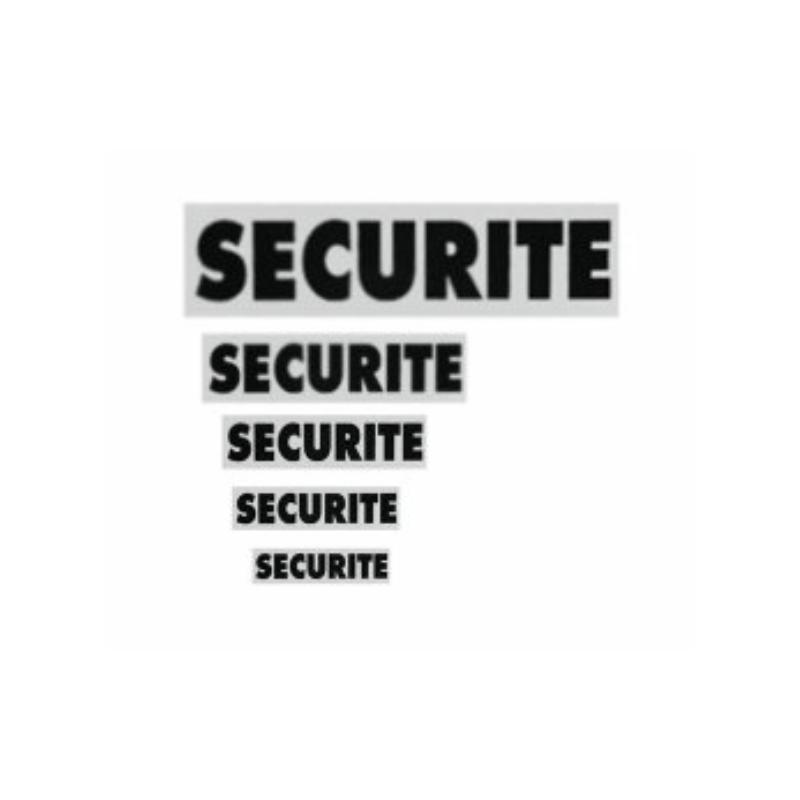 Bandeau SECURITE Rétro-réfléchissant