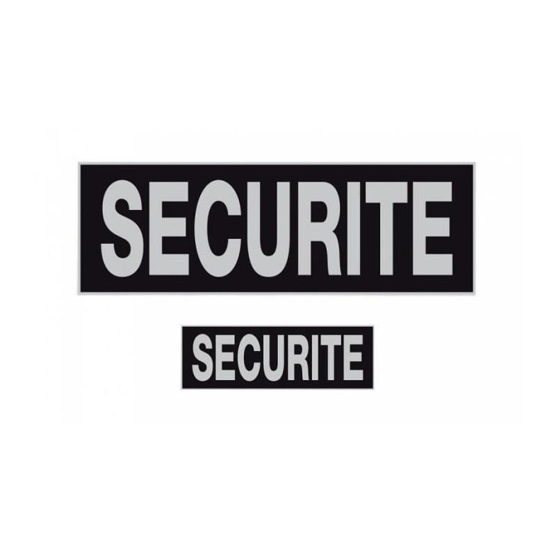 Bandeau SECURITE Rétro-réfléchissant inversé