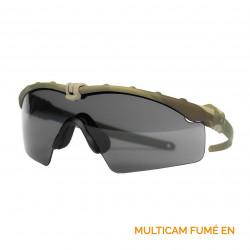 Lunettes SI Ballistic M Fram 3.0 Multicam Fumé EN