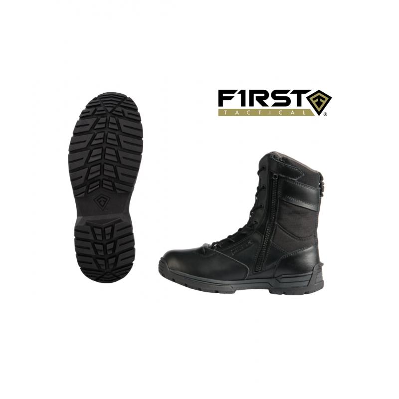 "First Tactical 8"" WATERPROOF SIDE ZIP DUTY BOOT"