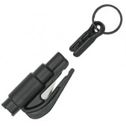 Brise Vitre/Coupe ceinture Noir