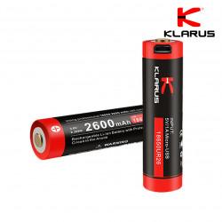 Batterie rechargeable prise micro USB – 2600 mAh