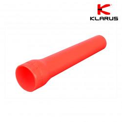 Cône de signalisation rouge pour lampe tactique diamètre 2 ou 3,5 cm
