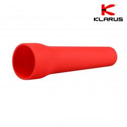 Cône de signalisation rouge pour lampe tactique diamètre 2,5 ou 4 cm