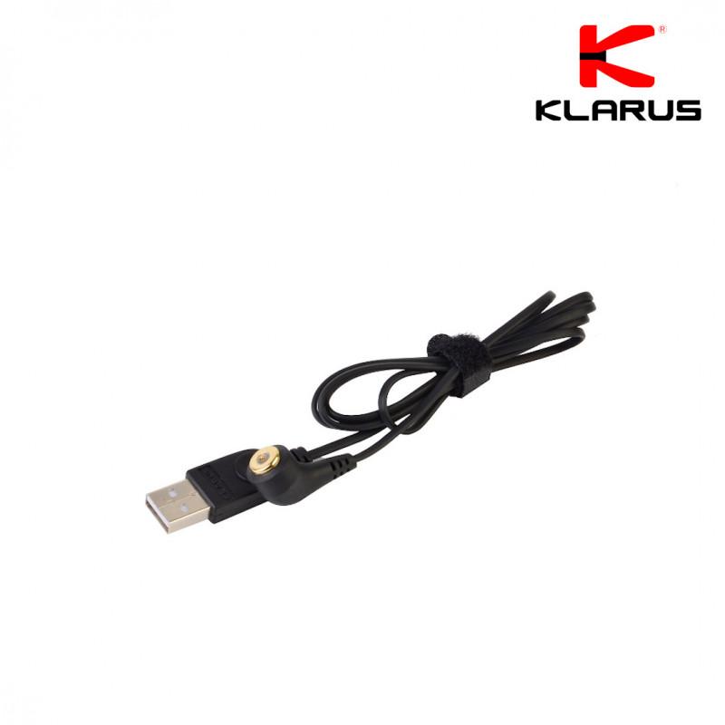 Cordon de chargement USB magnétique connecteur 0,8 mm