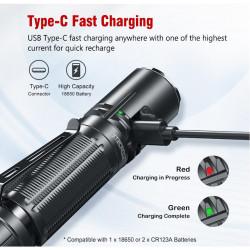 Lampe tactique rechargeable XT2CR LED PRO 2100 Lumens