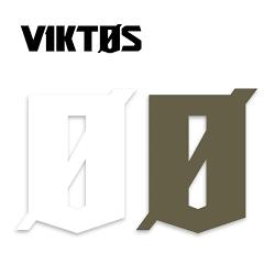 Autocollant vitrine VIKTOS Logo  9 inch (23 cm)