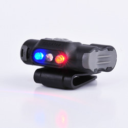 "Lampe frontale avec clip UL-12 ""Police"""