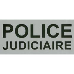 Bandeau Police Judiciaire Rétro-réfléchissant