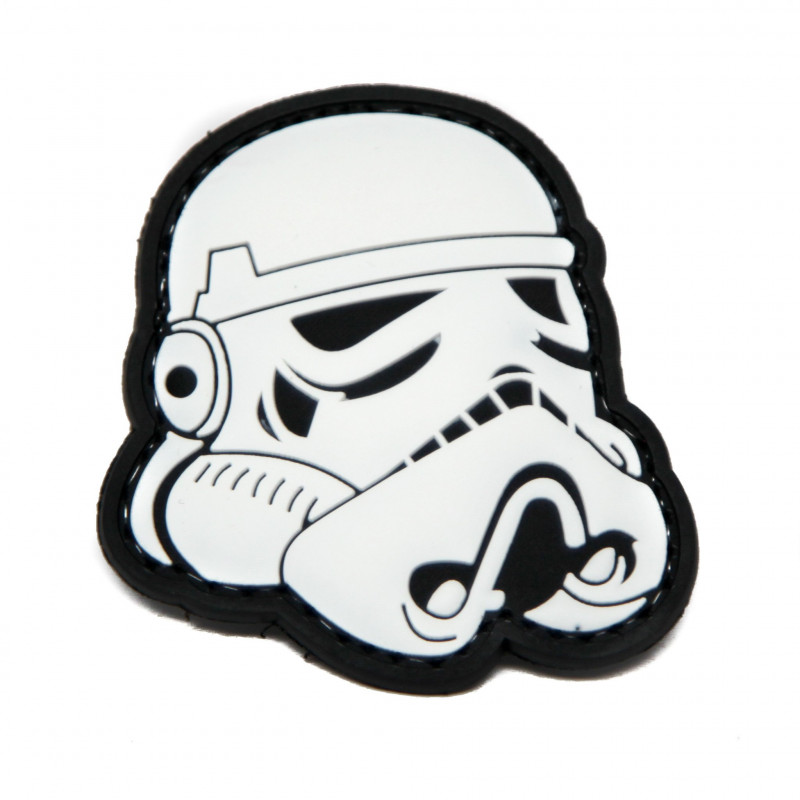 - Patch PVC Star Wars Blanc