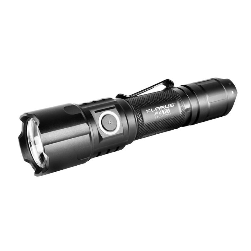 Lampe tactique rechargeable FX10 LED - 1000 Lumens