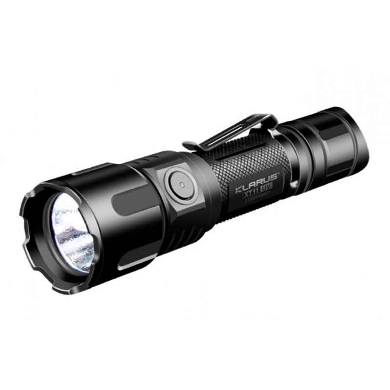 Lampe tactique rechargeable XT11UV LED - 900 lumens