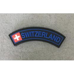 "Badge ""SWITZERLAND"" - Black & Blue"