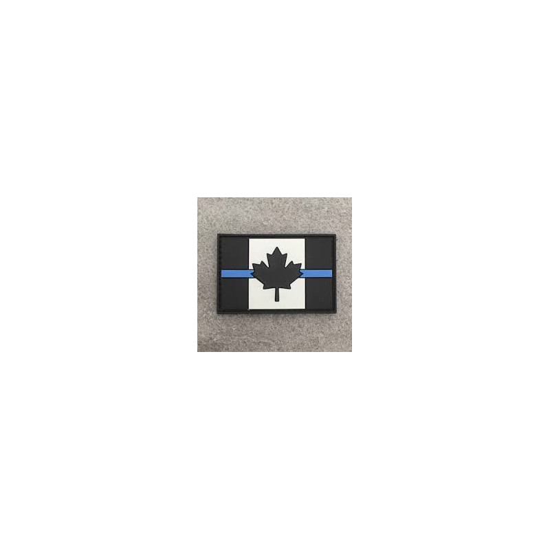 "Badge ""The Thin Blue Line Canada"""