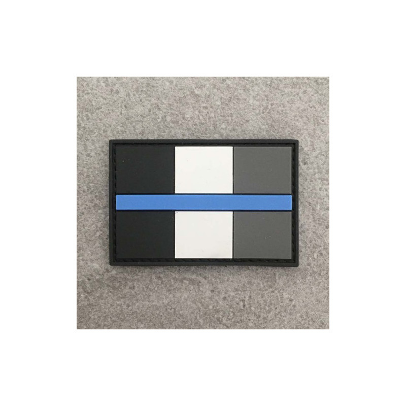 "Badge ""The Thin Blue Line France"""