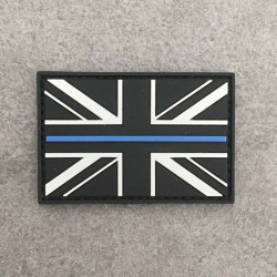 "Badge ""The Thin Blue Line UK"""