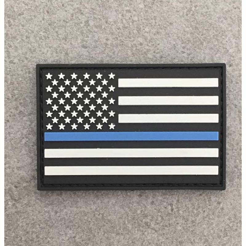"Badge ""The Thin Blue Line USA"""