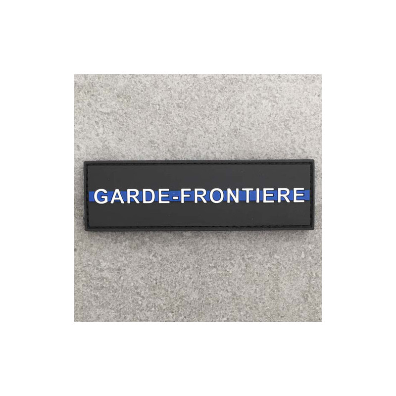 "Badge GARDE-FRONTIERE ""The Thin Blue Line"""