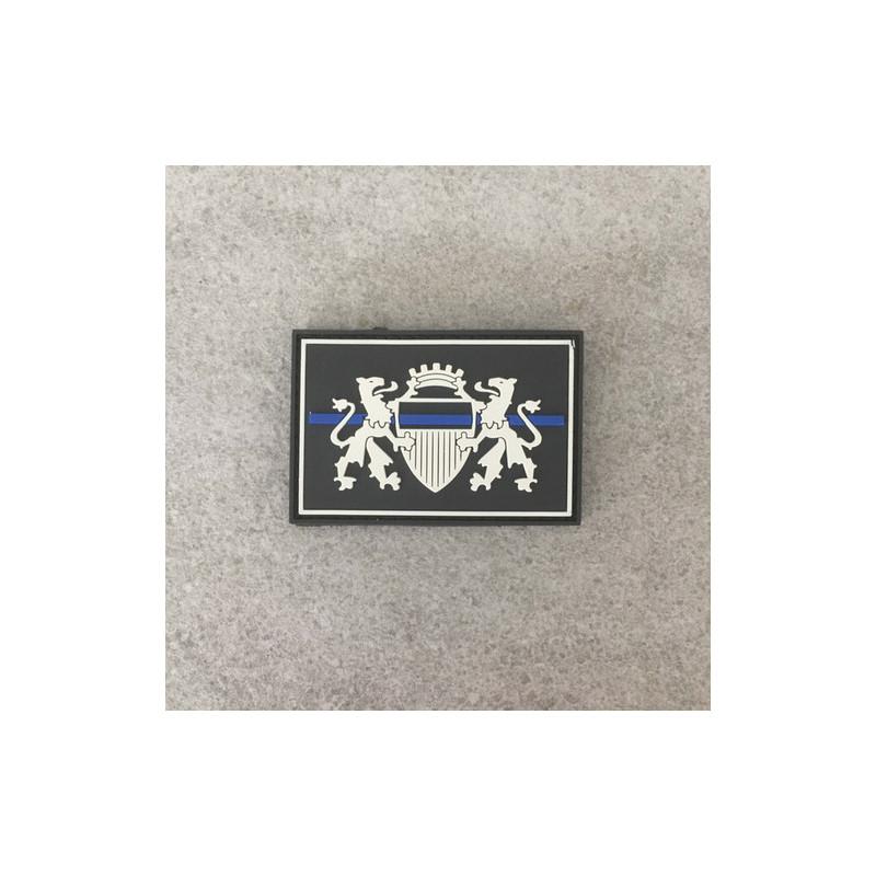 "Badge PML ""The Thin Blue Line Switzerland"""