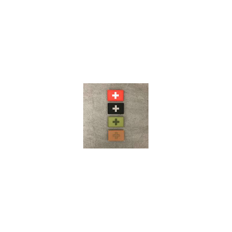 "Badge rectangle ""Suisse"""