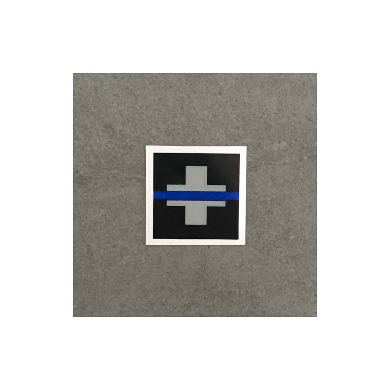 "Vignette auto ""The Thin Blue Line Switzerland"""