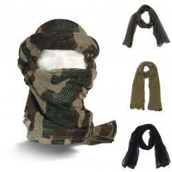 Echarpe Filet de Camouflage Coton