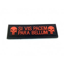 Patch PUNISHER SI VIS PACEM PARA BELLUM