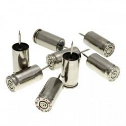 Epingles 9mm nickel
